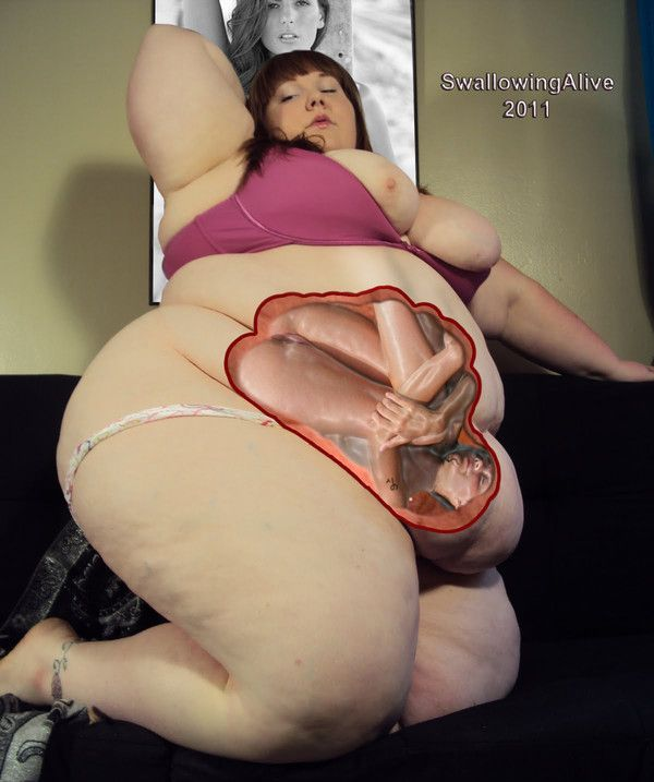 Useful idea ssbbw giantess pussy vore join. happens
